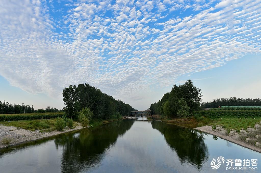 大美菏泽——万福河景观