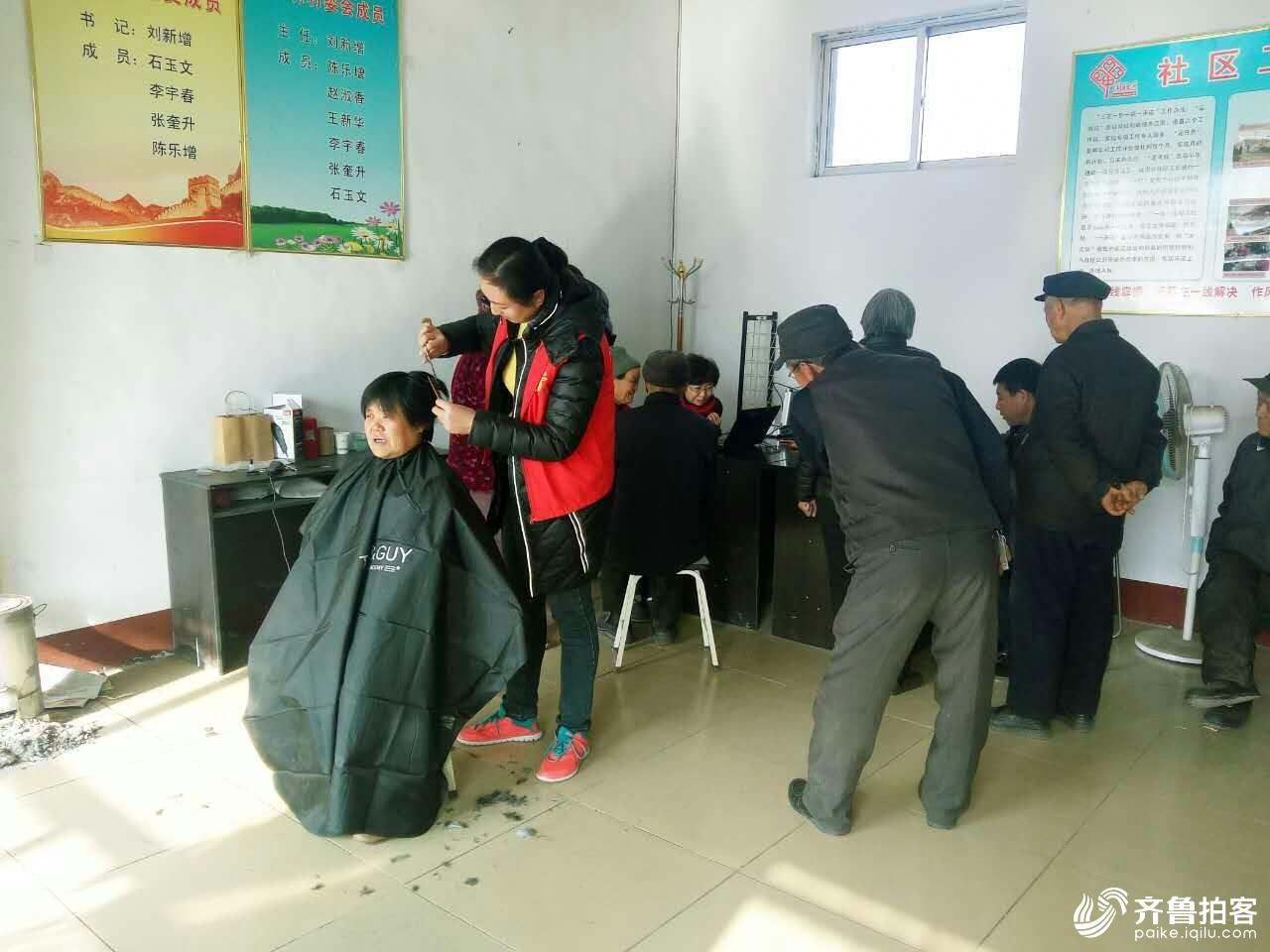 """昌乐县公益志愿者协会进行""""365公益爱老村村行""""活动"""