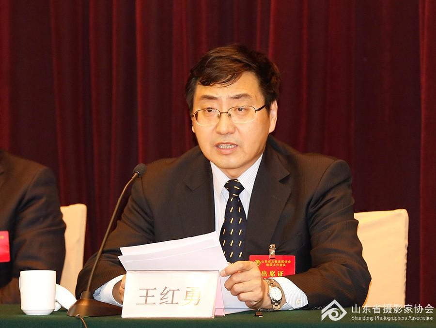 2省委宣传部副部长王红勇作重要讲话