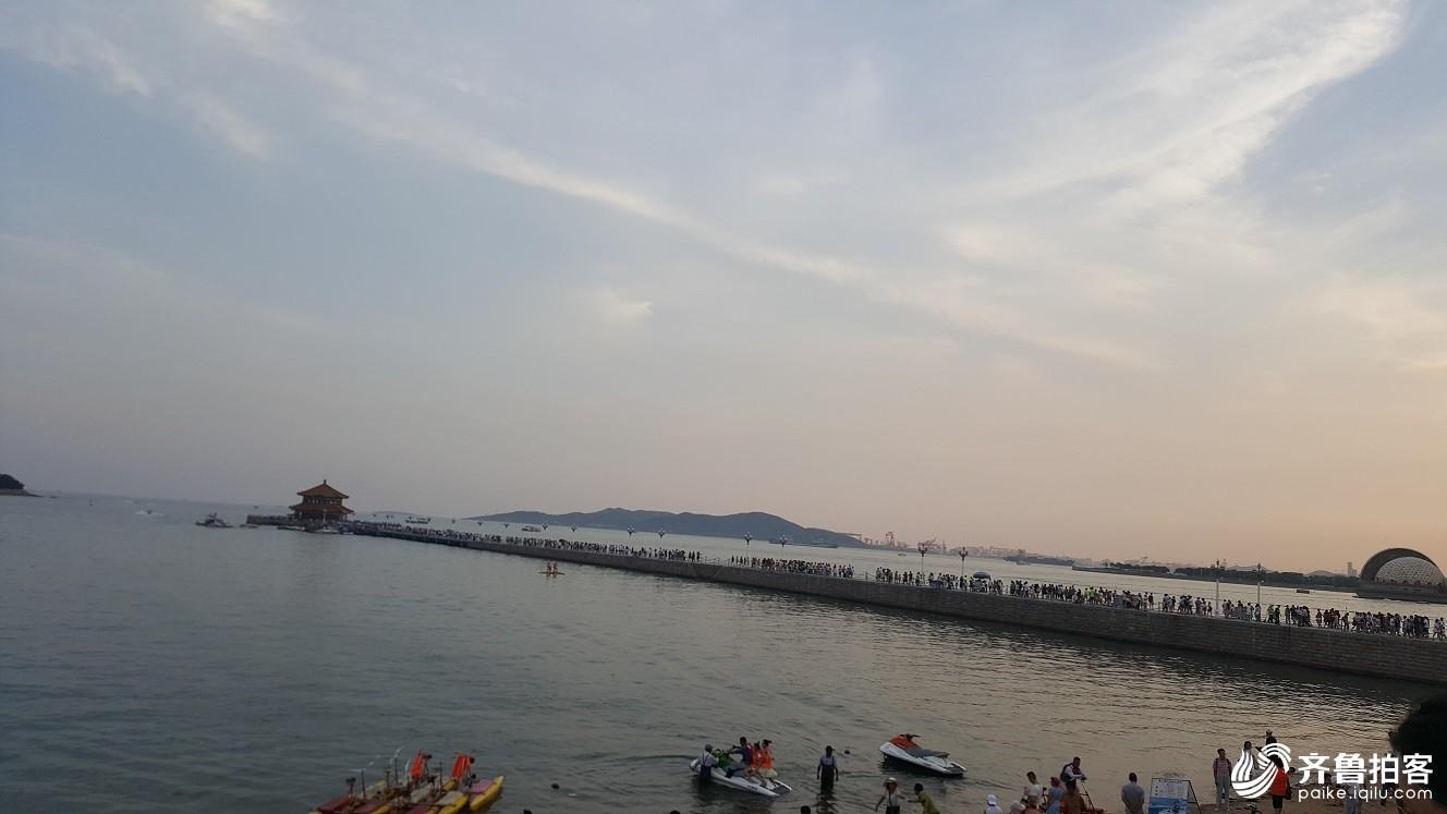 青岛栈桥 一