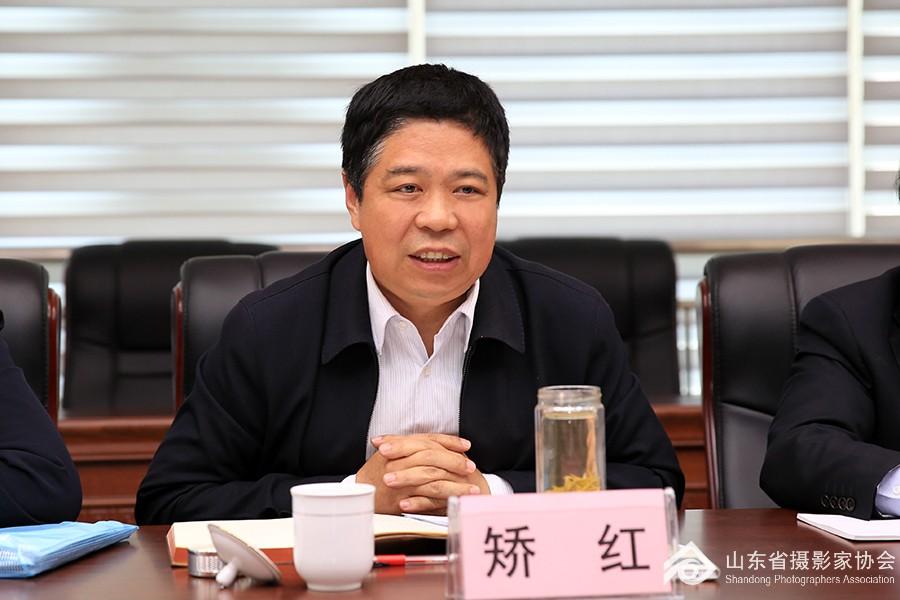 省文联党组成员、副主席矫红