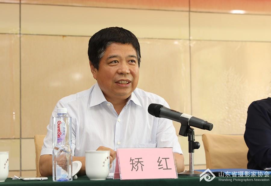 省文联党组成员、副主席矫红讲话