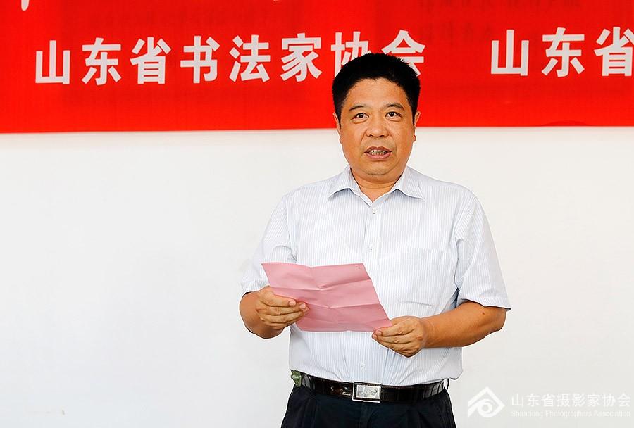 山东省文联党组成员、副主席矫红致辞