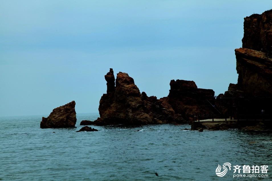 长岛望夫礁,九丈崖