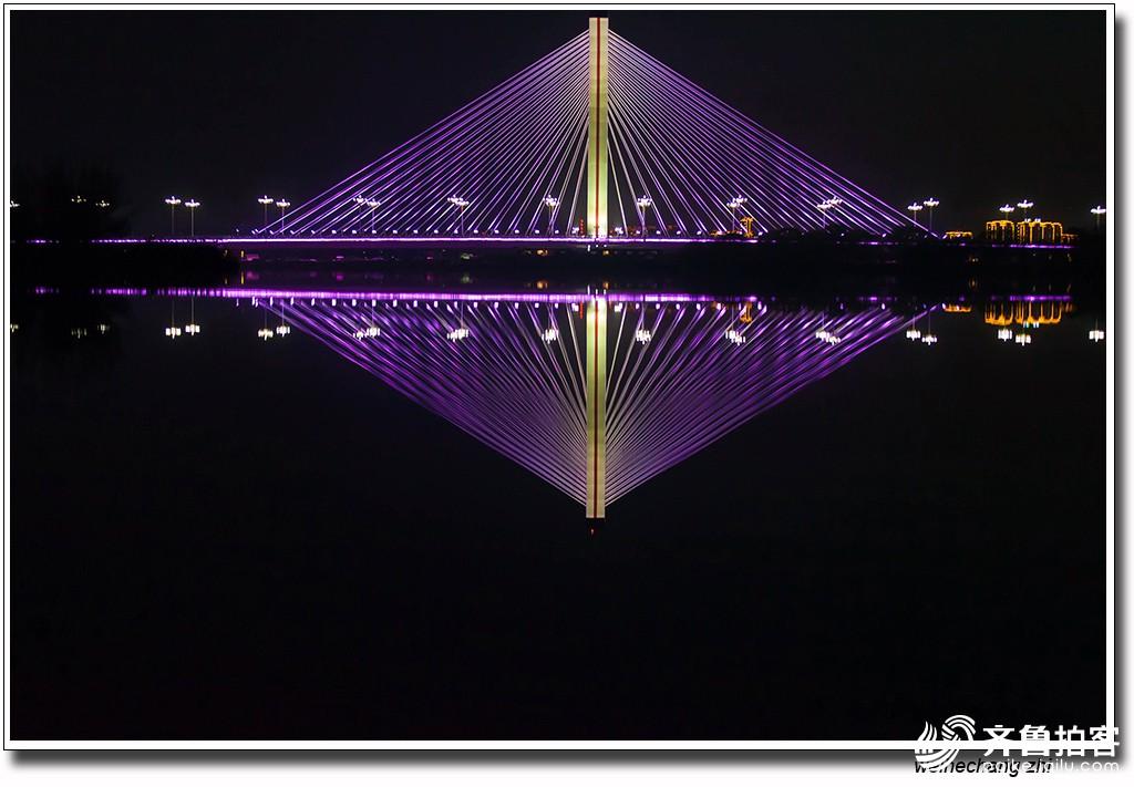 夜幕降临大汶河21.jpg