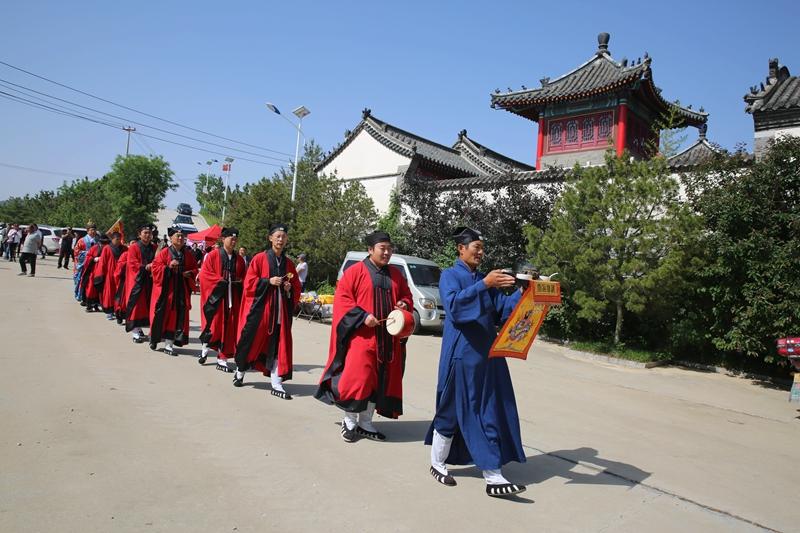 六十张图片  诠释招远九曲蒋家  第十届龙王庙庙会