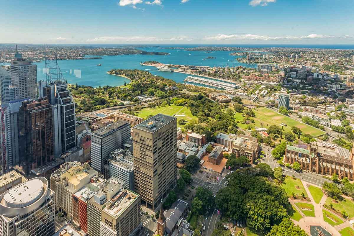 """澳新旅游行…""""电视塔上观悉尼"""""""