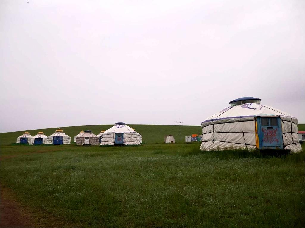 7月17曰孤岛拍客携手西城记忆之旅旅行社乌拉盖草原第七期