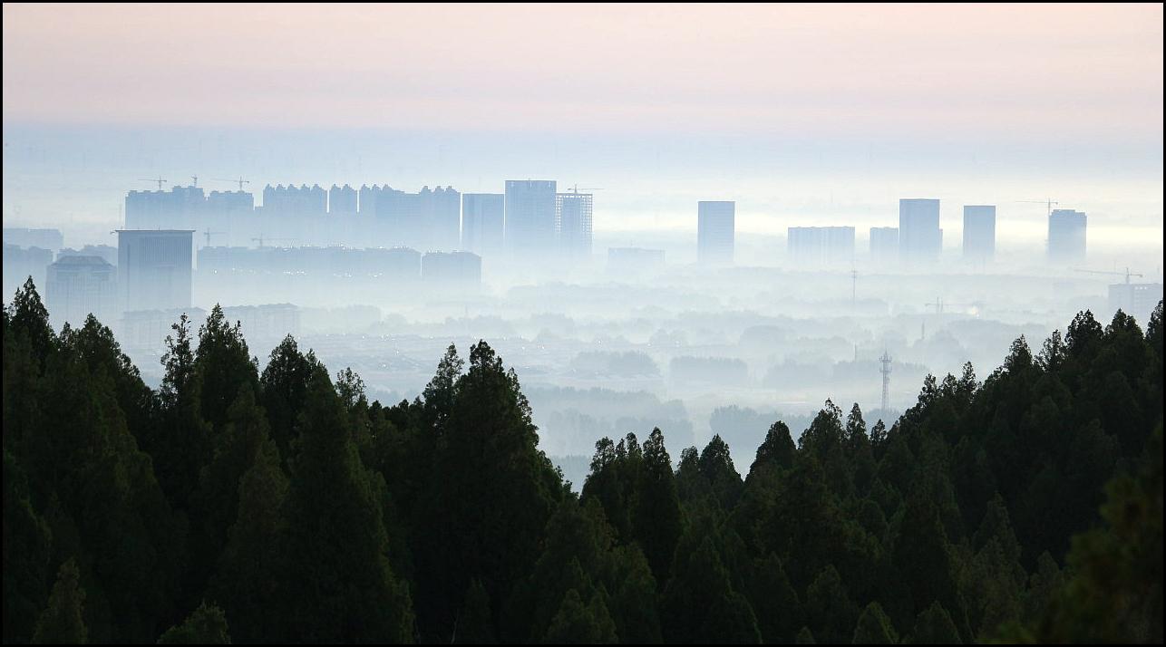 青州东城区晨景