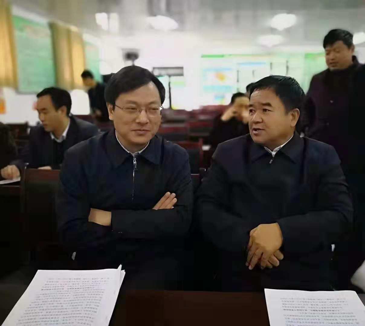 河南省许昌市供销社到郓城考察学习 为农服务中心建设经验