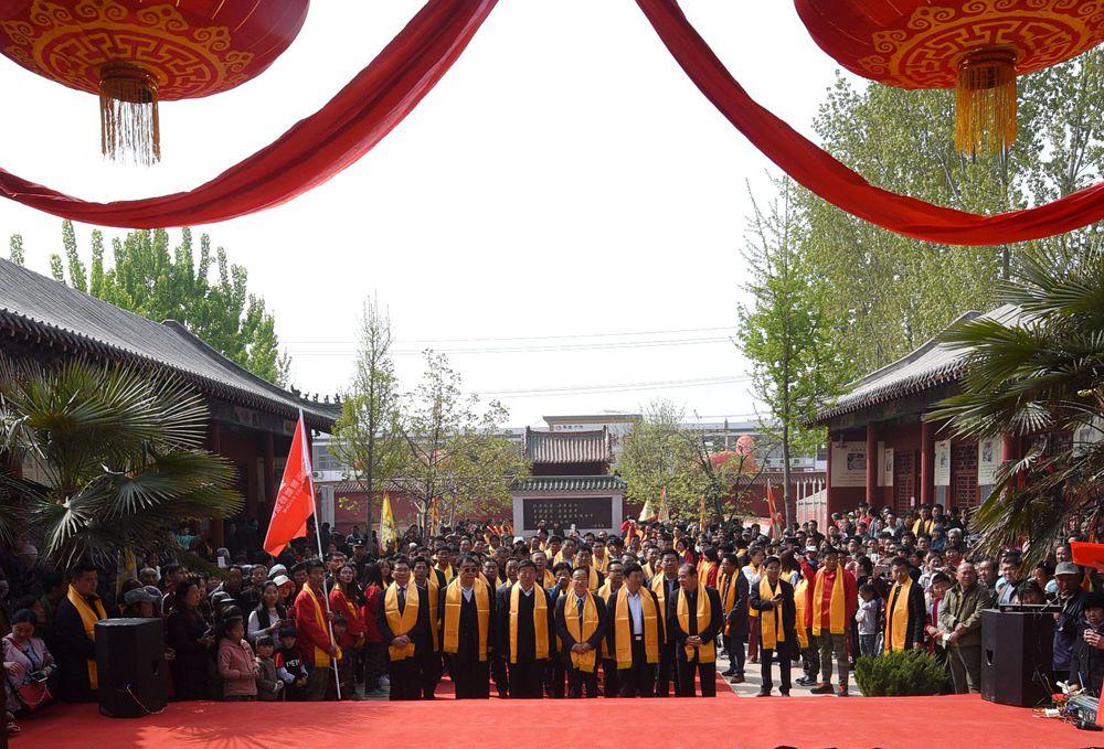 菏泽举办大型春季祭孔活动