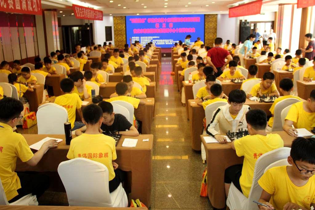 安丘市第十三届少儿国际象棋锦标赛花絮
