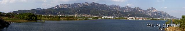 天平湖濕地公園一角圖片