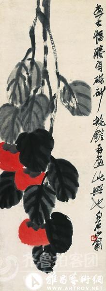 """绘画大师齐白石""""蔬菜水果""""系列画品欣赏"""