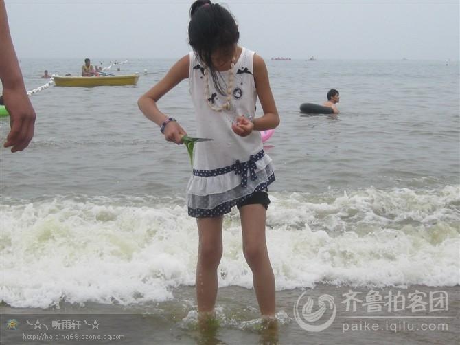 赶海的小姑娘——找寻.