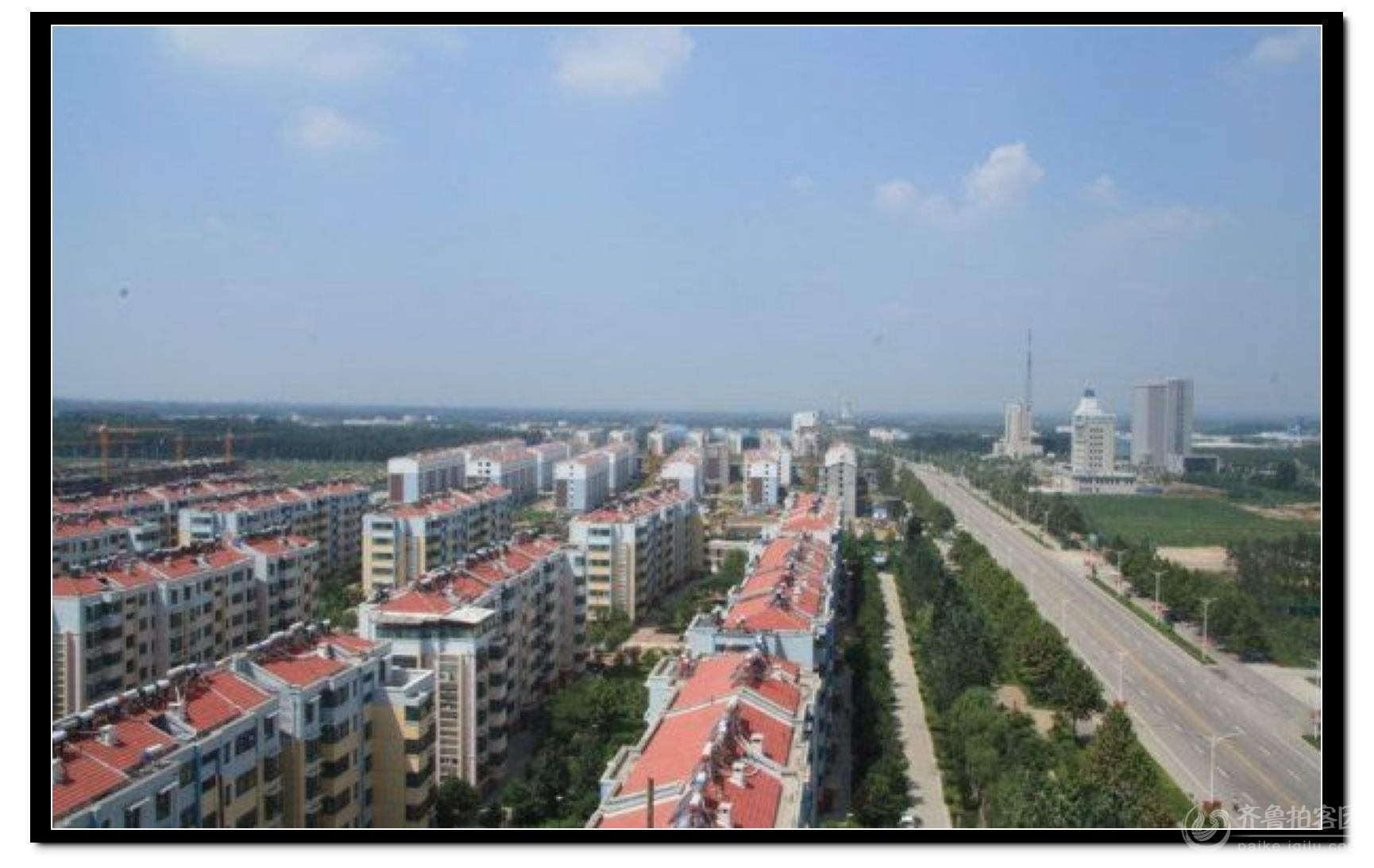 泗水县城市新风貌