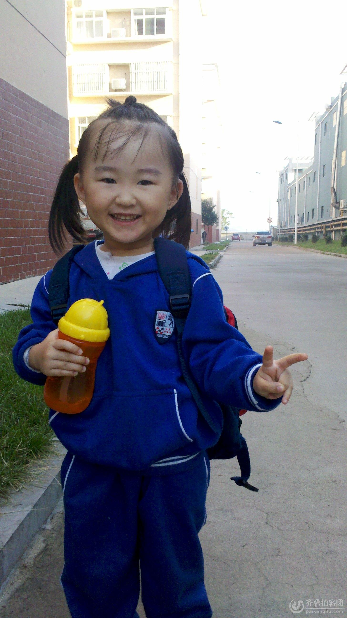 小美女去上学