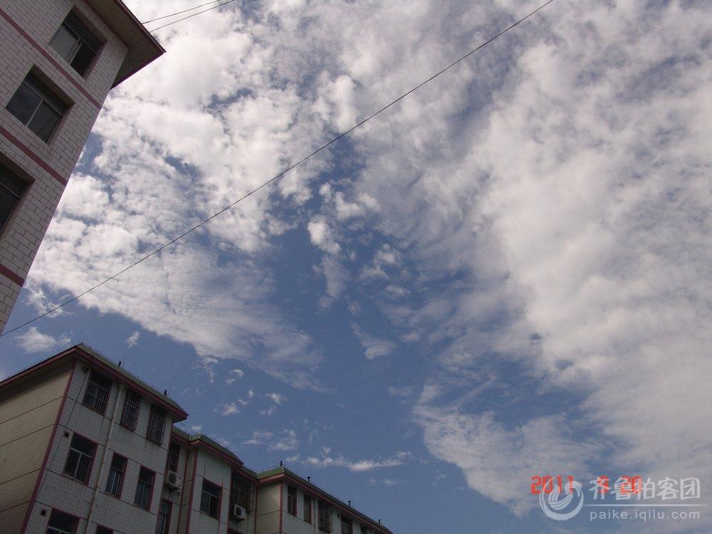 齐鲁网济宁拍客团金乡站团长 -秋日的天空 山东最大的城市生活社区,