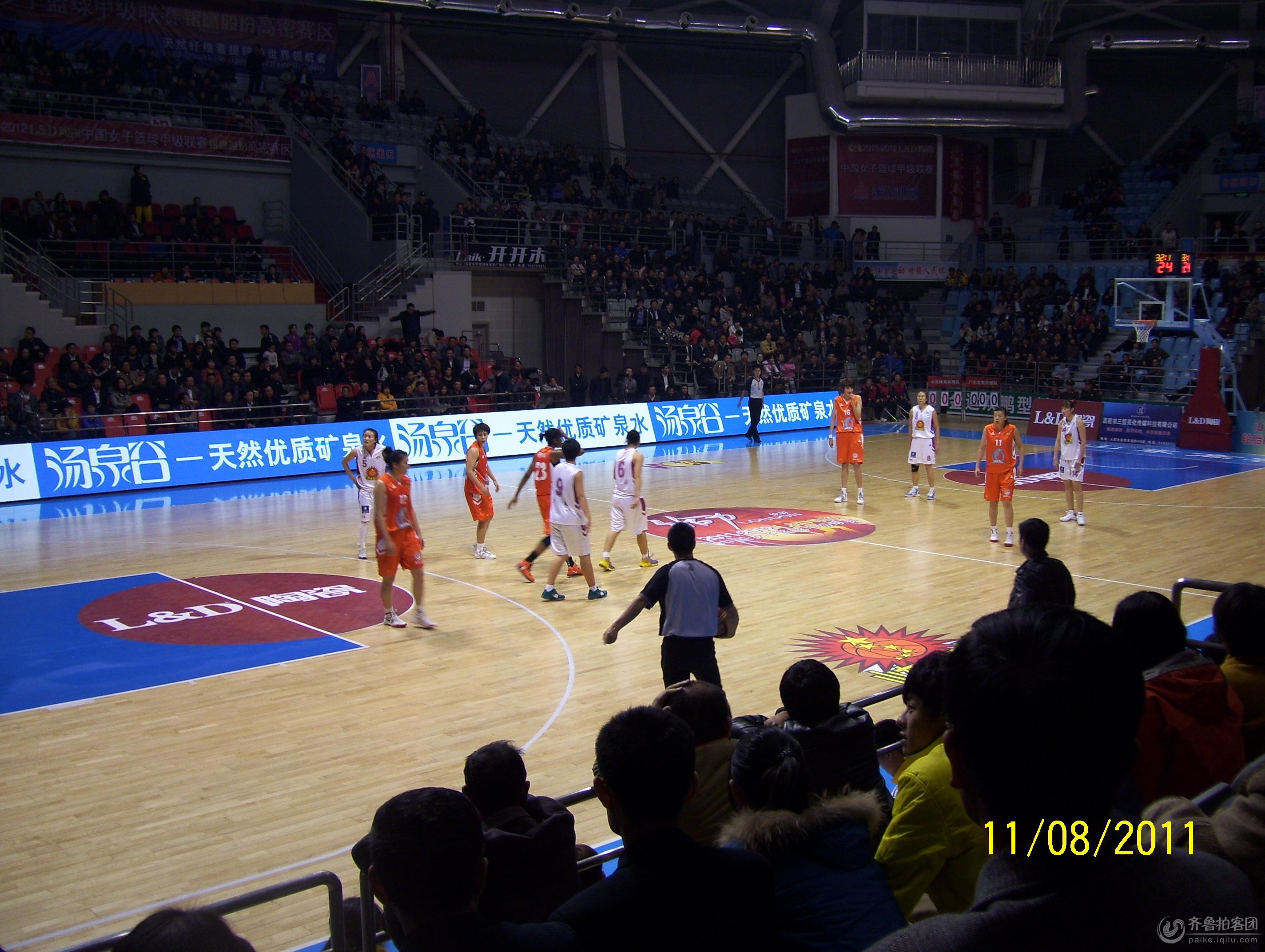 2011-2012中国女子篮球甲级联赛高密赛区
