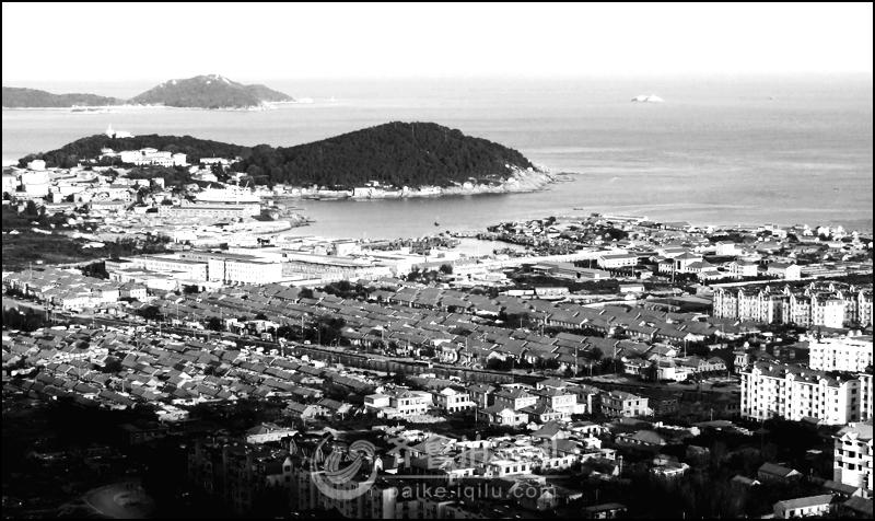 黑白之韵------我的家乡(青岛崂山沙子口)