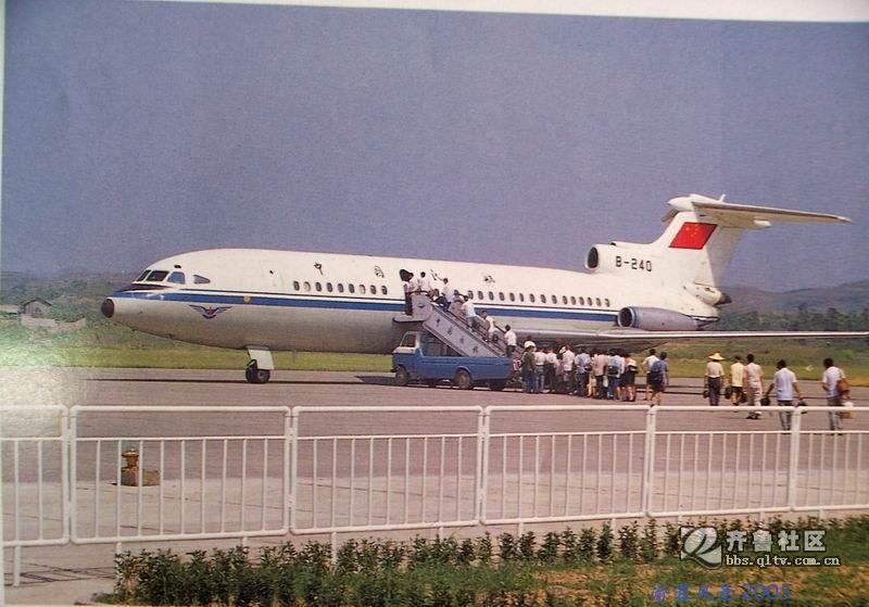 此飞机早已退役了.三叉戟图片
