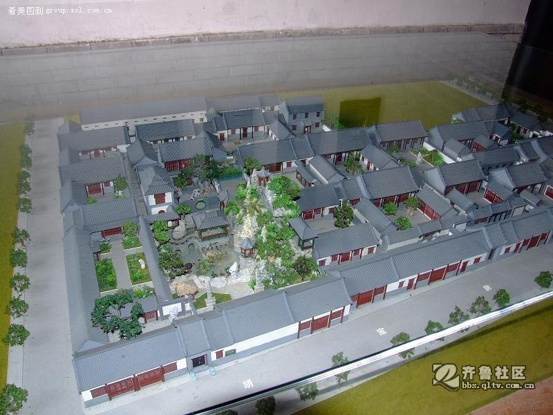 平面呈长方形,由中,西,东三条古建筑轴线组成,中轴线建筑及其院落为园图片