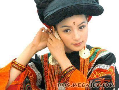 彝族第一美女玛嘿阿依