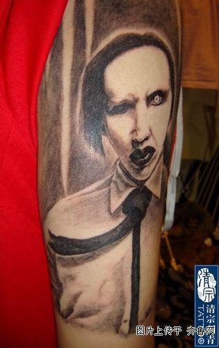 晒几张自己的纹身作品图片