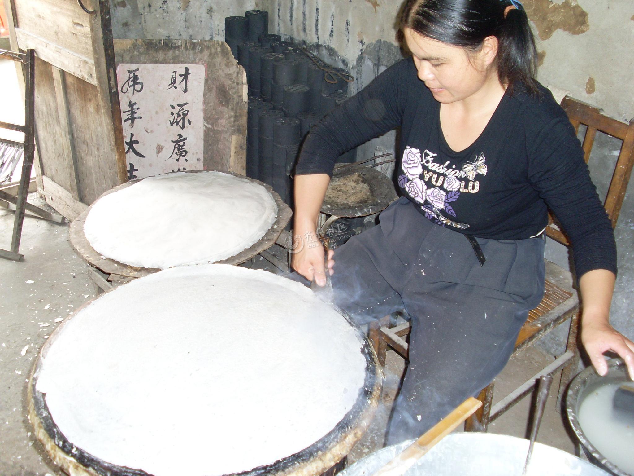 传统手艺——手工煎饼制作过程