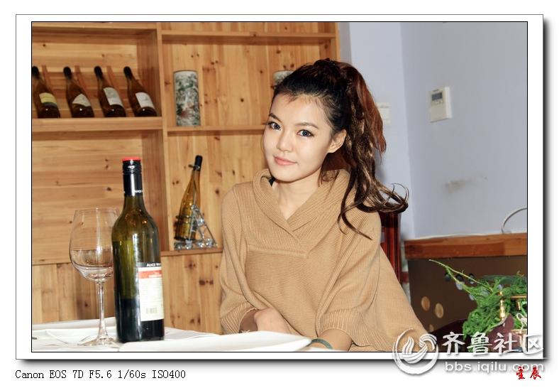 红酒与美女 济南拍客
