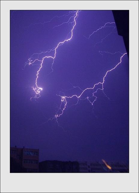 p图背景素材闪电