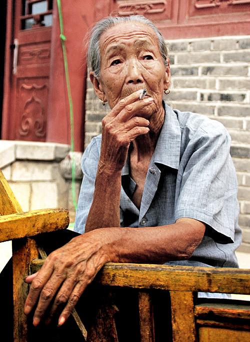 沧桑老人 - 人像摄影