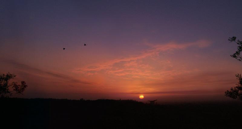 浮烟山——身边的风景线