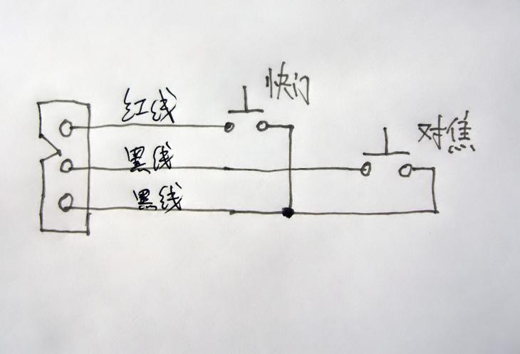 /p> p>发现快门线的原理非常简单,请看下图: /p> p>