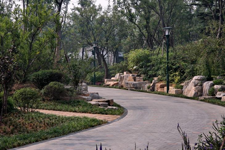 即将建成的潍坊植物园