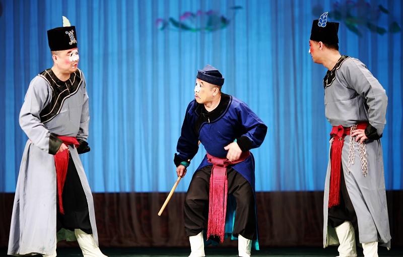 戏剧判官_戏剧的活化石⑵⑵地戏中国民族宗教纲mzb