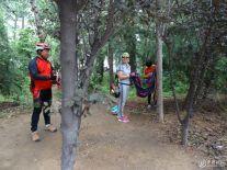 济宁远航骑友挺近伏羲庙、红荷湿地