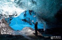 壮美水晶宫冰岛冰洞奇景 里面有没有住着冰雪女王