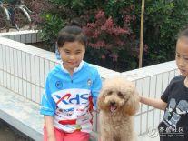 【潍坊比安奇单车+晒照】+小骑友喜欢小狗狗
