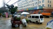 青岛黄岛红石崖一天街修了几个月竣工还是无期