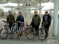 【潍坊比安奇单车+晒照】骑行济宁廖沟河公园