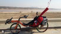 2014年3月15至16号骑行去黄河大坝放风筝玩烧烤