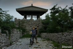 骑行颜山公园齐长城(自拍)