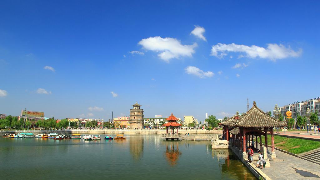 郓城唐塔 - 镜头下的山东记忆 - 齐鲁社区 - 山东最大图片