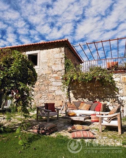 家小院花园设计图 普通农村房子带小院 现代农村小院效果图