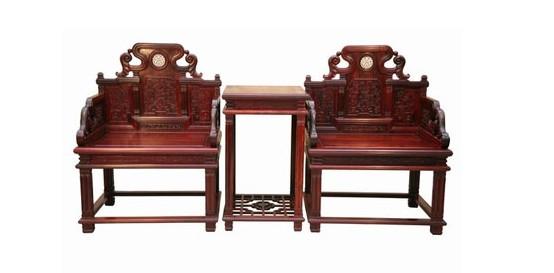 上百万元一套的红木家具却什么文字信息都