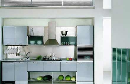 小厨房装修必看:一字型橱柜设计推荐