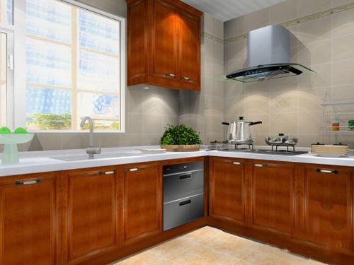 L型厨房装修L型整体厨房效果图