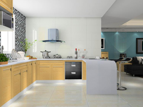 整体橱柜设计效果图 2012现代家庭流行装修风格