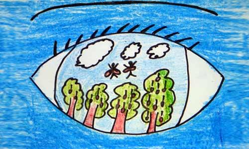 文明环保主题画_第7页_画画大全